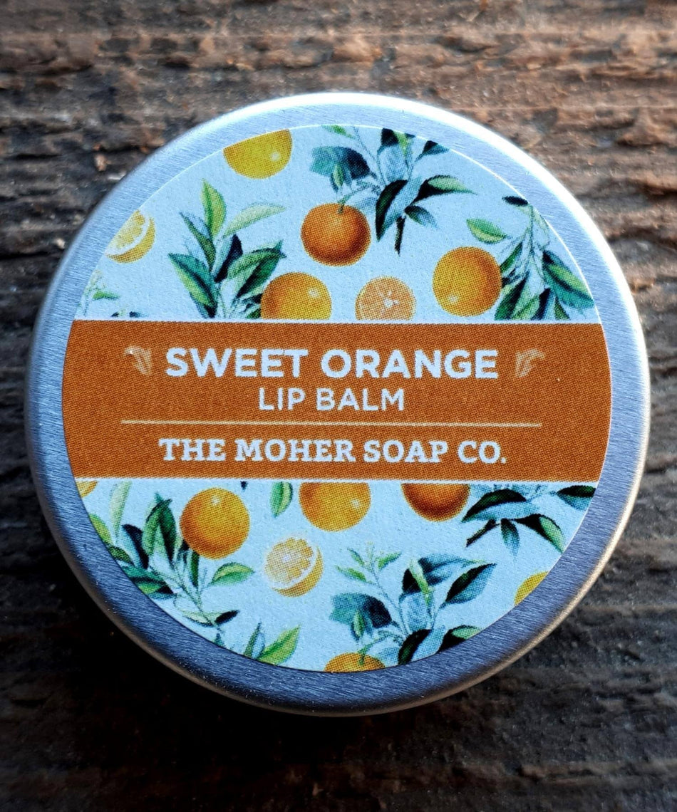 Lip Balm - Sweet Orange - [The Moher Soap Co.] - Skincare & Beauty - Irish Gifts