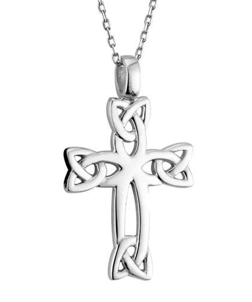 Sterling Silver Celtic Cross Pendant Solvar Jewellery