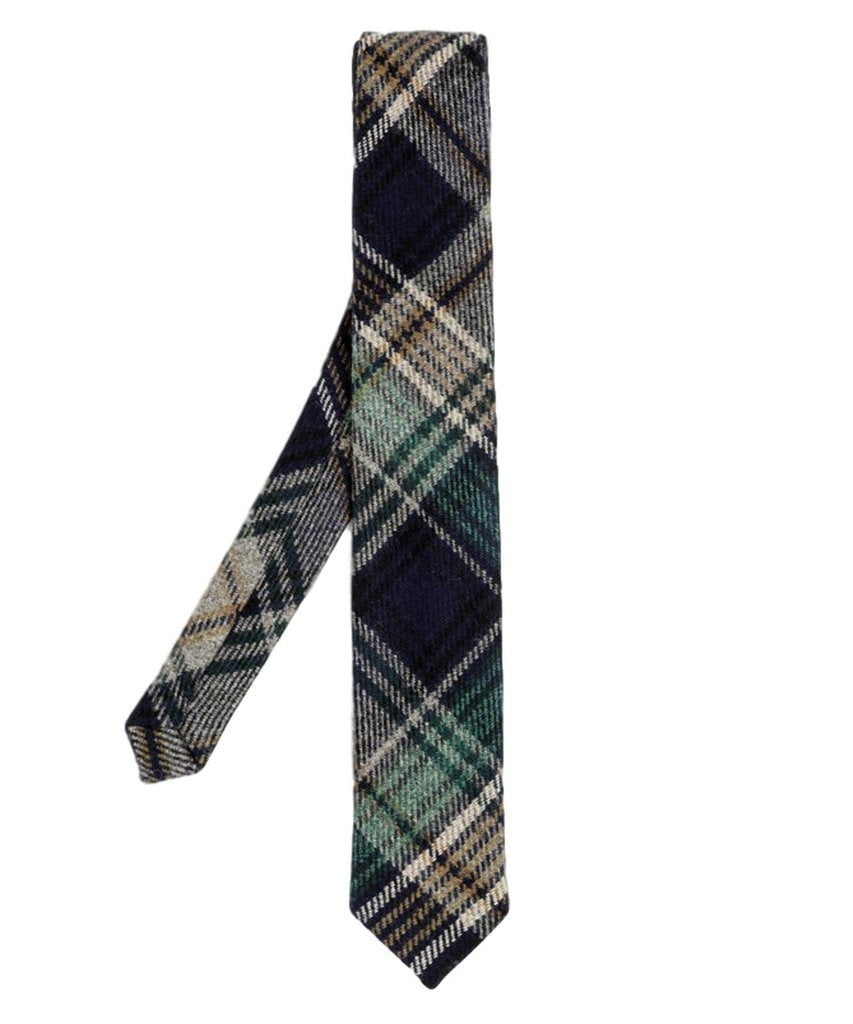 Donegal Tweed Tie - Harlequin - [Orwell & Browne] - Mens Accessories - Irish Gifts