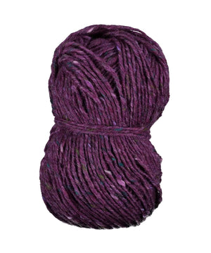 Aran Tweed Yarn - Plum - [Studio Donegal] - Knitting - Irish Gifts