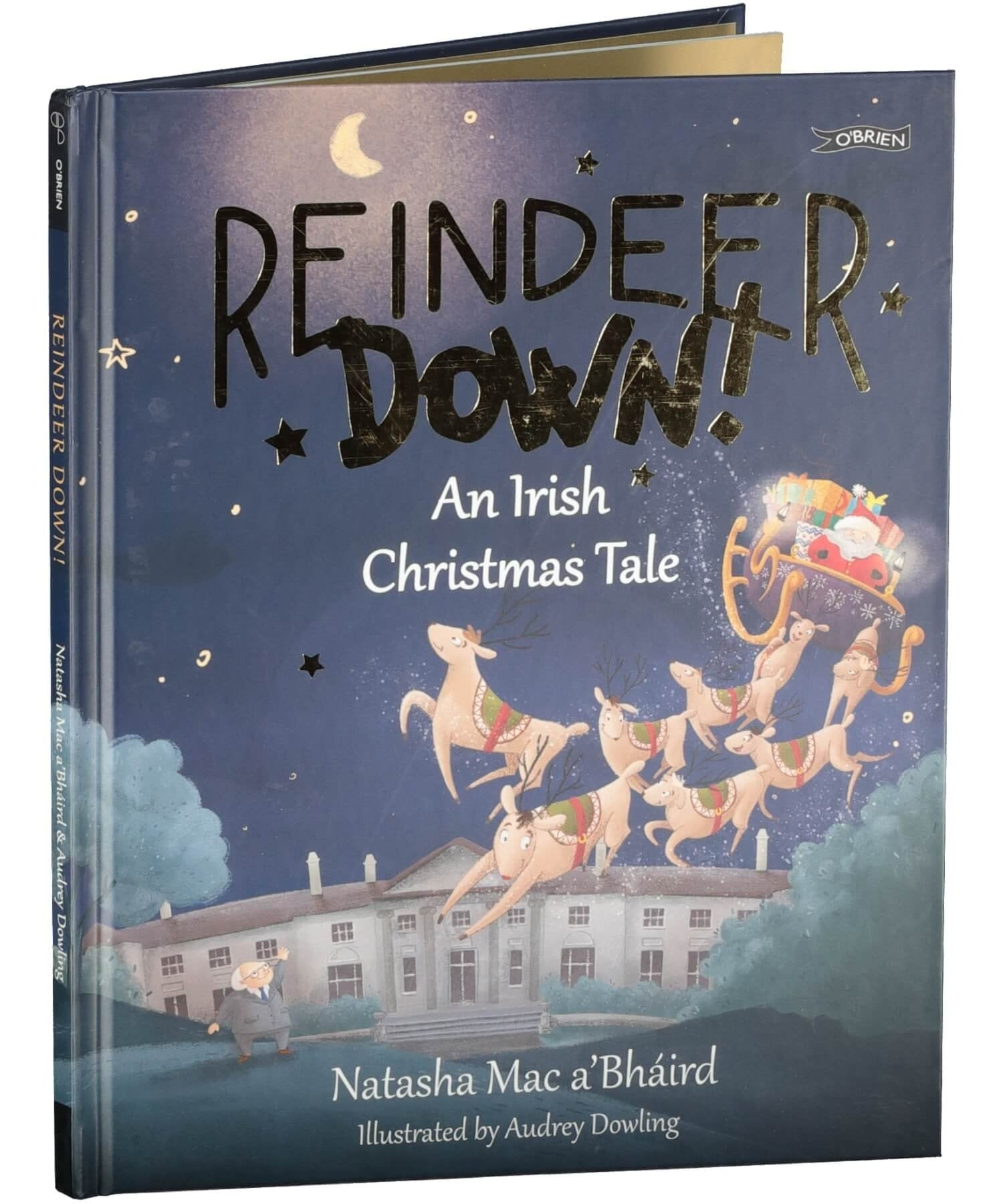 Reindeer Down - [The O'Brien Press] - Books & Stationery - Irish Gifts