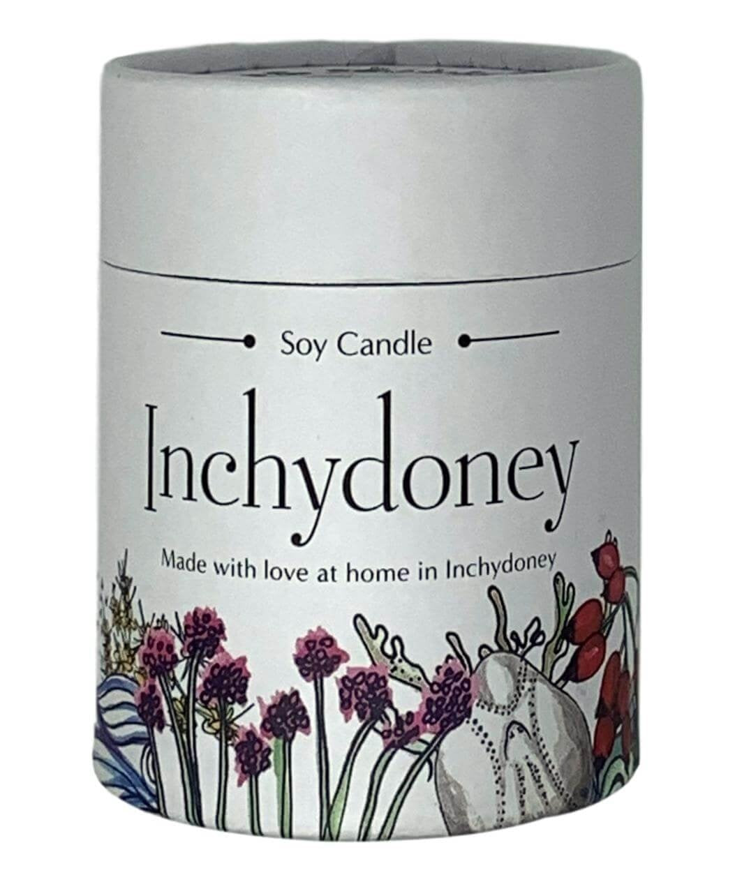 Glass Keepsake Candle - Honeysuckle - [Inchydoney Candles] - Home Fragrance - Irish Gifts