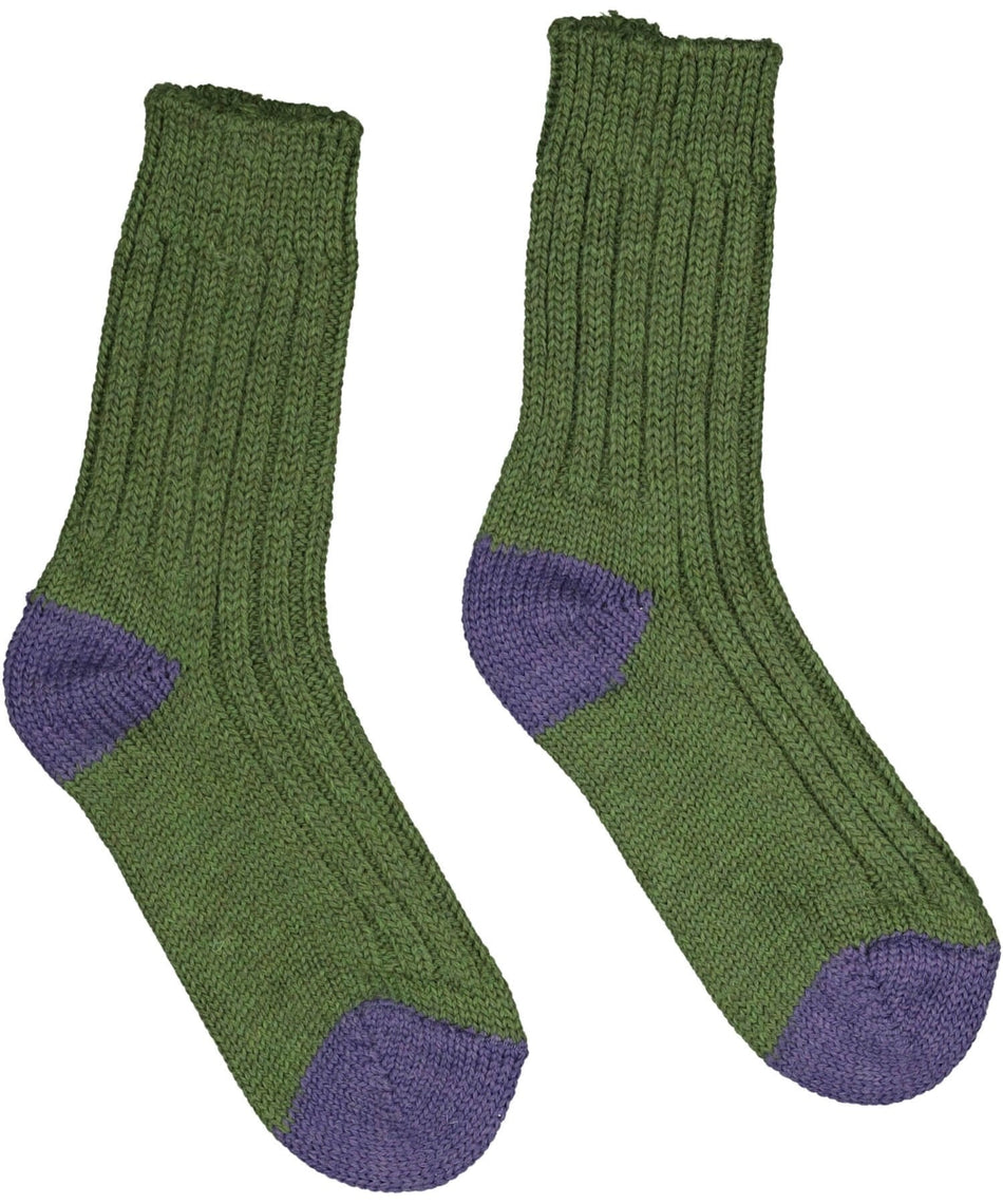 River View Merino Socks - Green - [Jimmy Walsh] - Socks & Slippers - Irish Gifts