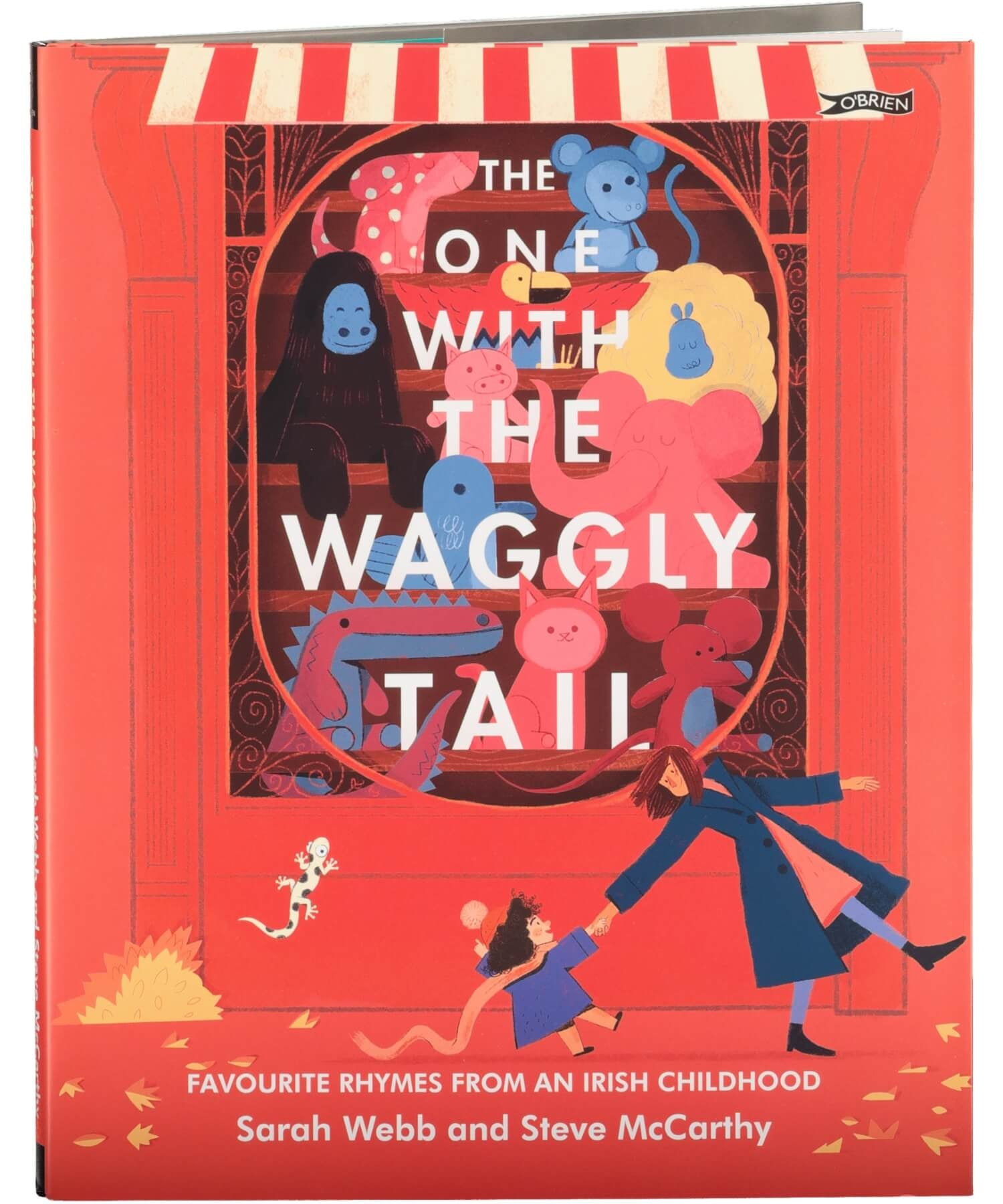 The One With The Waggly Tail - [The O'Brien Press] - Books & Stationery - Irish Gifts