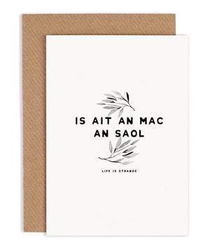 Greeting Card - Life Is Strange - [Under the Willow] - Greeting Cards - Irish Gifts