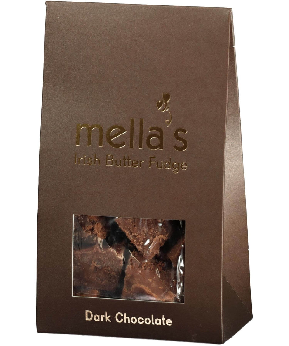 Irish Butter Fudge - Dark Chocolate - [Mellas Fudge] - Food Gifts - Irish Gifts