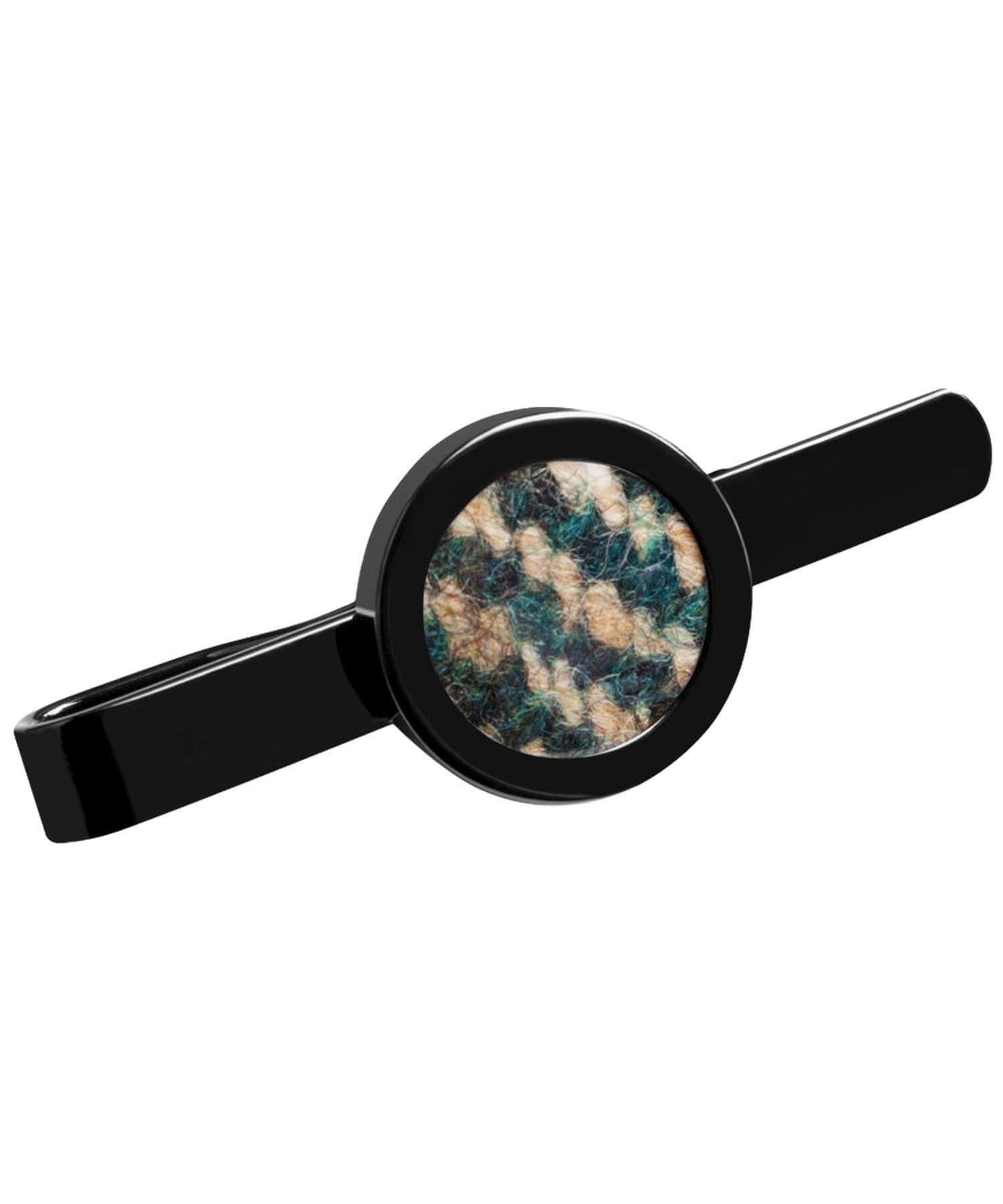 Donegal Tweed Tie Clip - Pine - [Orwell & Browne] - Mens Accessories - Irish Gifts