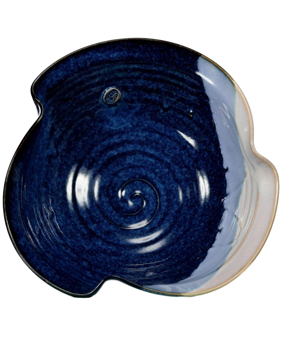 Hampton Blue - Newgrange Bowl (medium) - [Castle Arch] - Pottery & Ceramics - Irish Gifts
