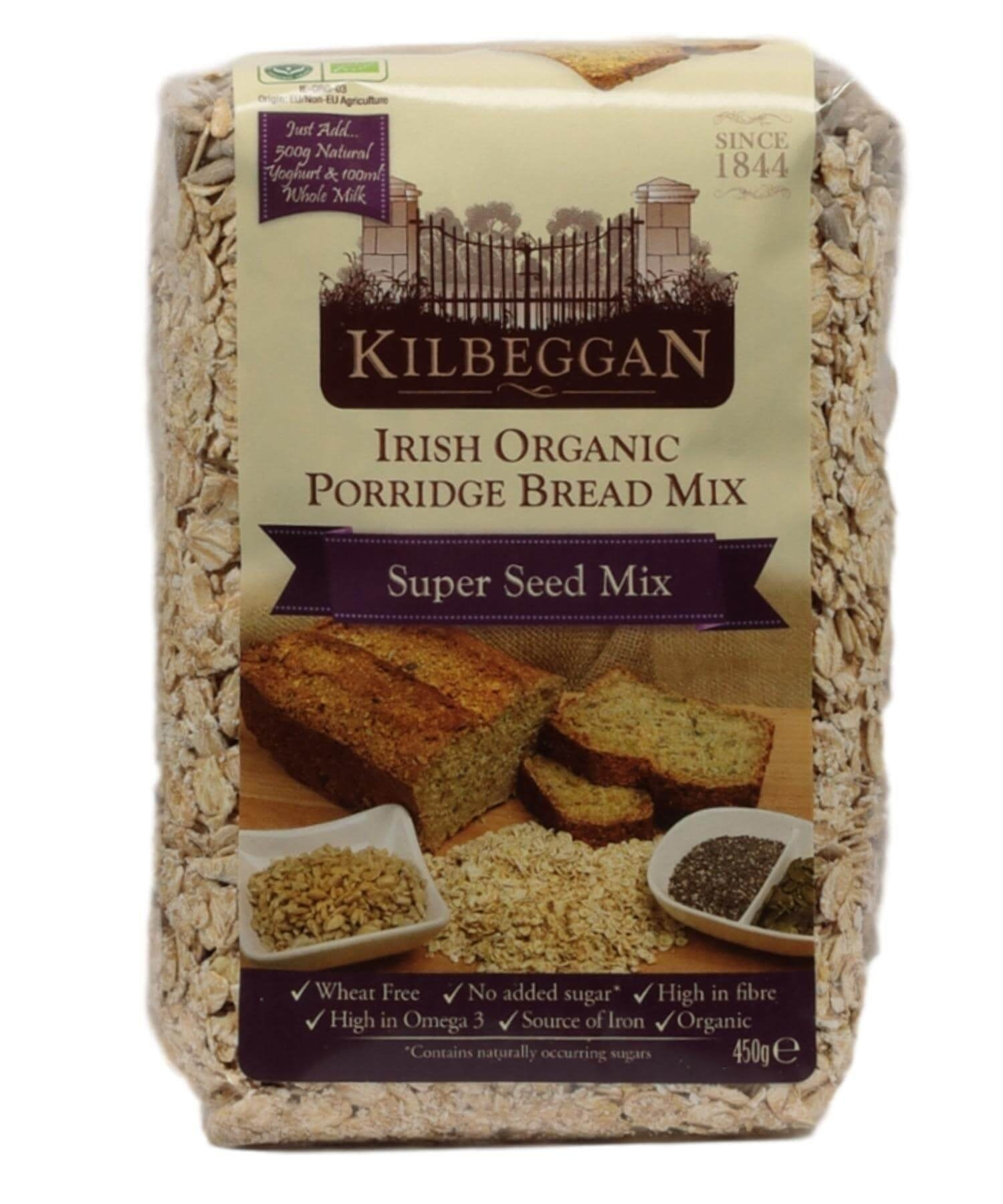 Organic Porridge Bread Mix - Super Seeds - [Kilbeggan] - Food Gifts - Irish Gifts