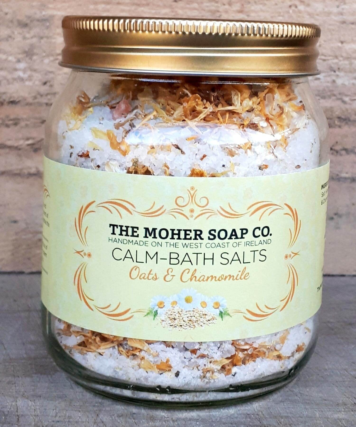 Bath Salts - Oats & Chamomile - [The Moher Soap Co.] - Skincare & Beauty - Irish Gifts