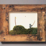 Boxed Pebble Art - Golf (medium)