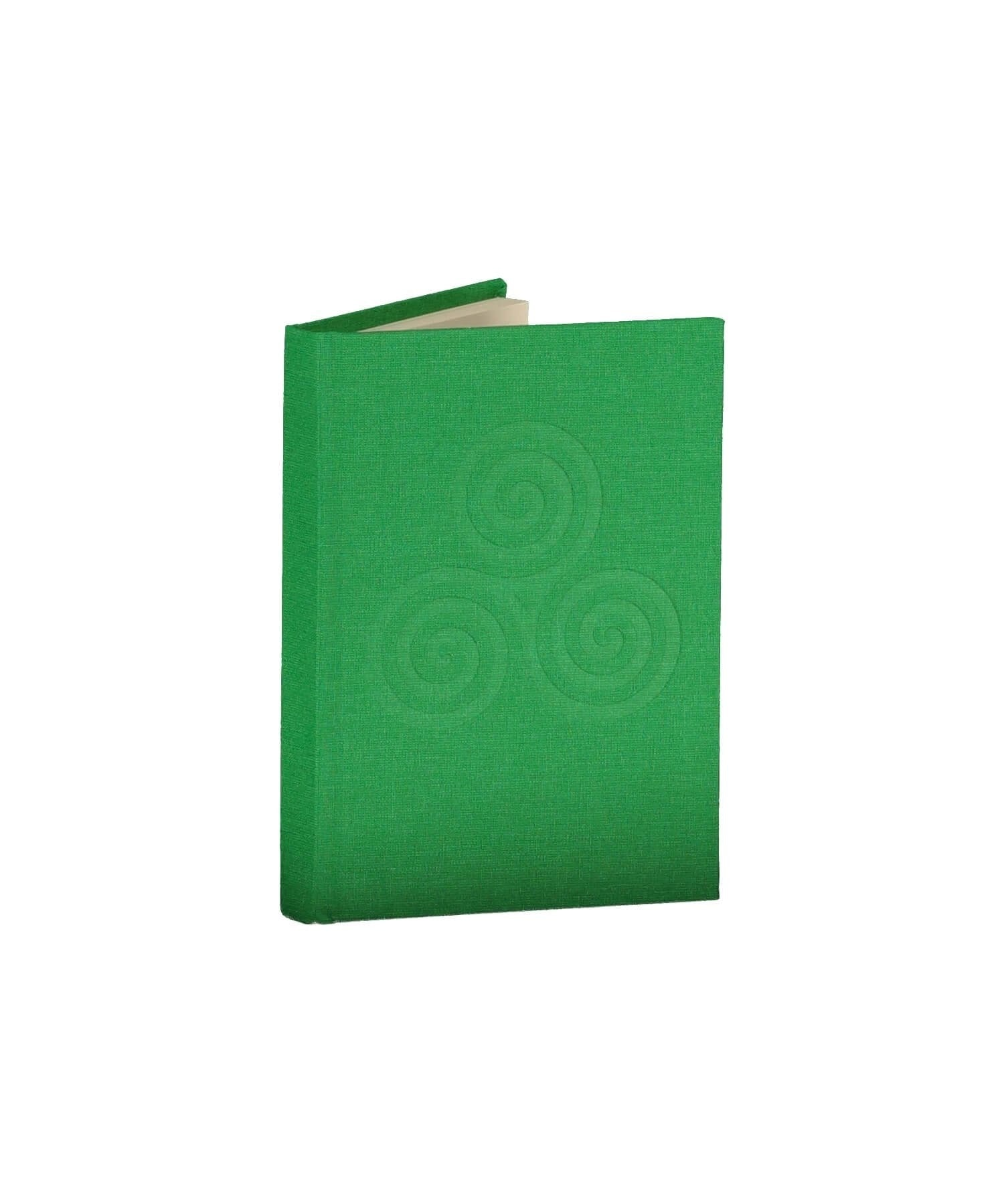 Triskele Knot Pocket Notebook - Meadow Duffy Bookbinders Books