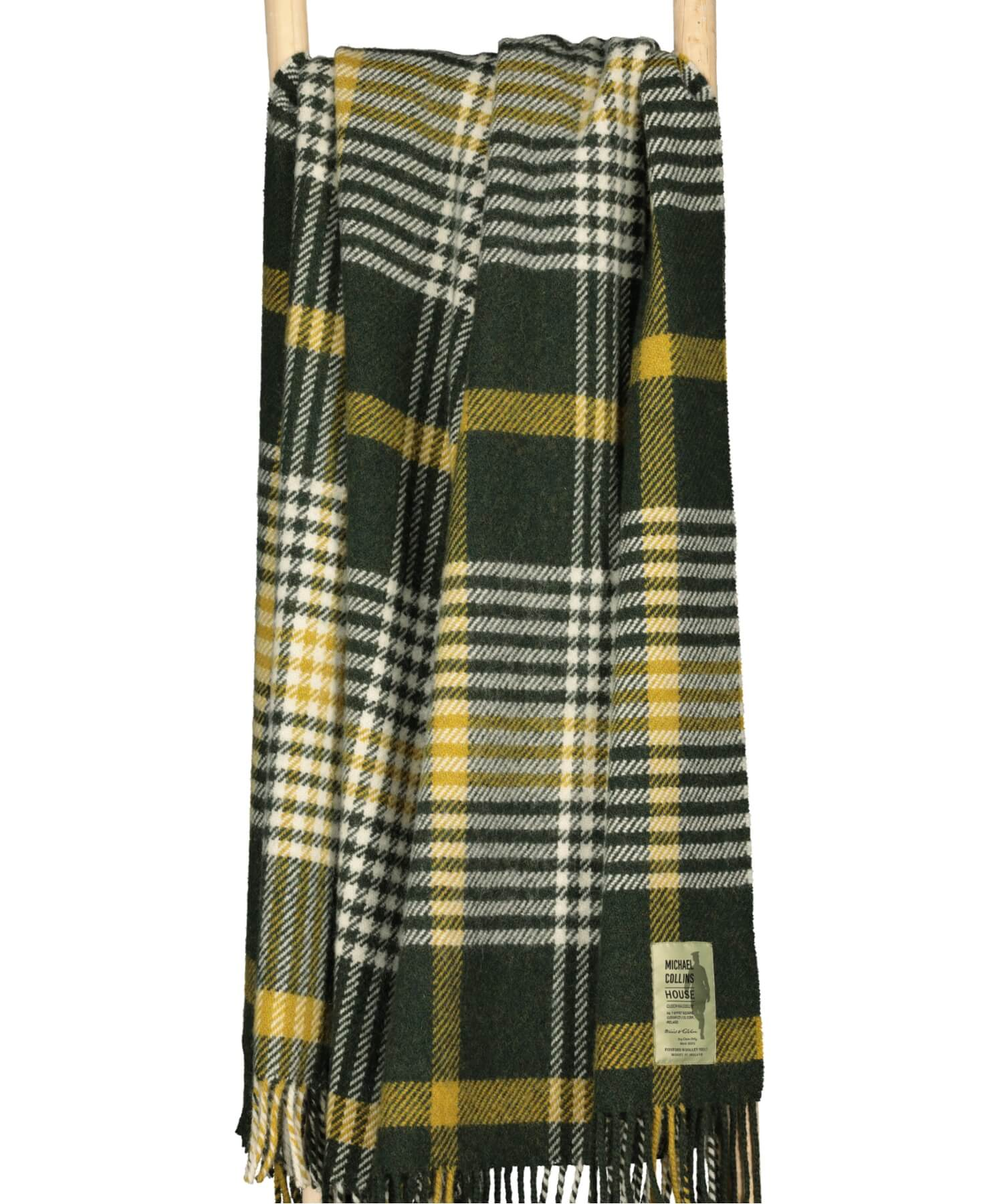 Luxury - Michael Collins Travel Blanket - [Foxford] - Throws & Cushions - Irish Gifts