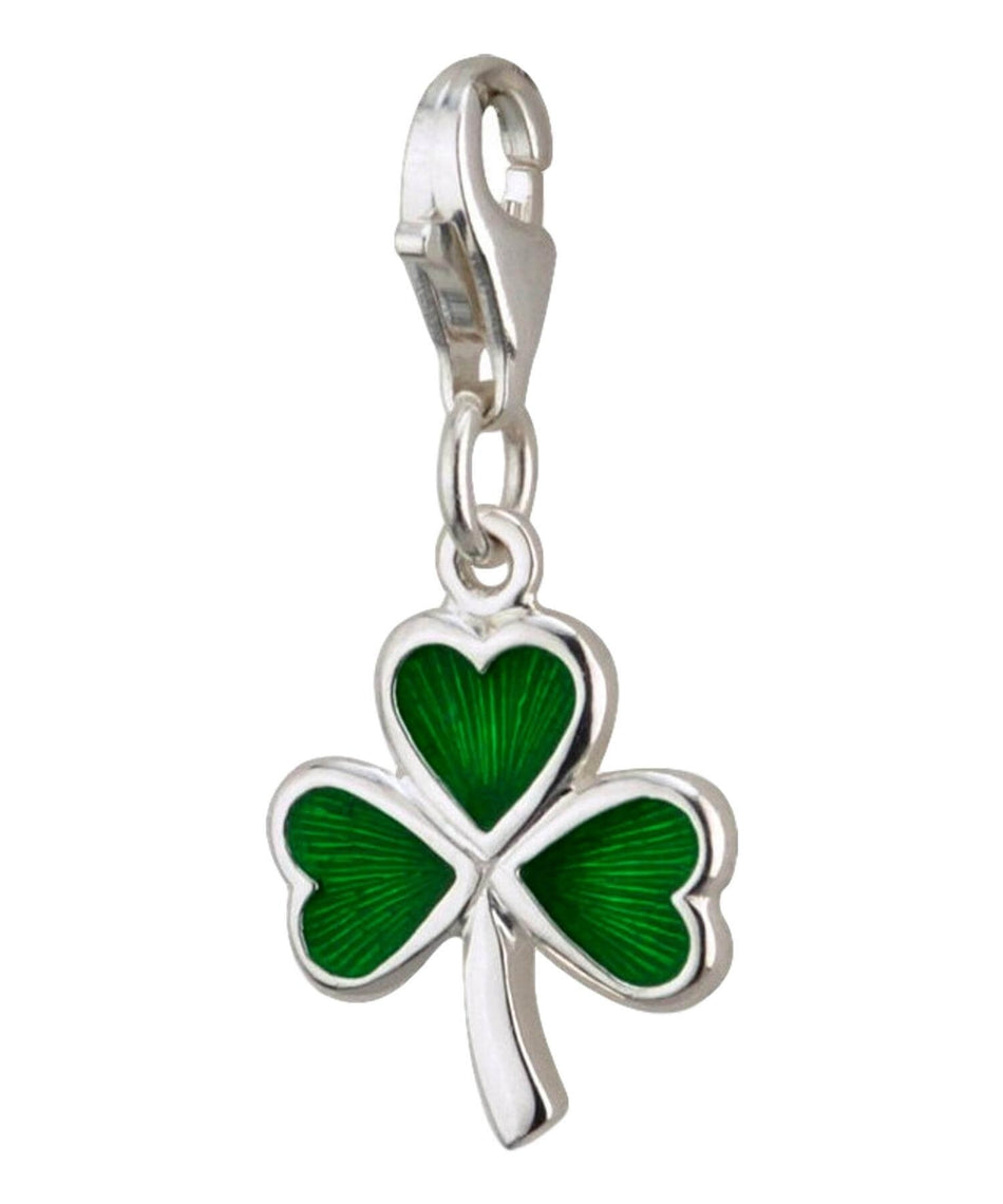 Charm - Shamrock Charm - [Solvar] - Jewellery - Irish Gifts