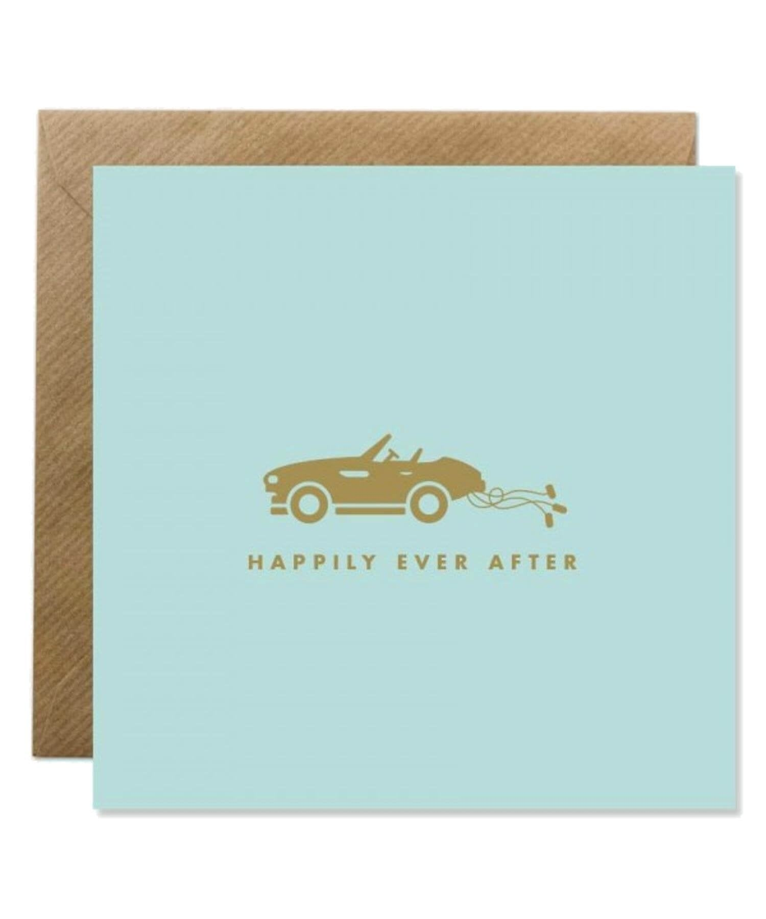 Greeting Card - Happily Ever After Bold Bunny Cards