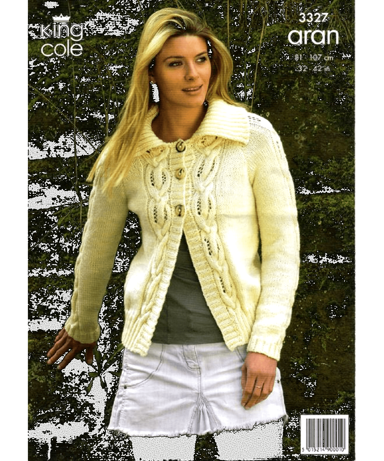 King Cole Aran Pattern 3327 - [Springwools] - Knitting - Irish Gifts