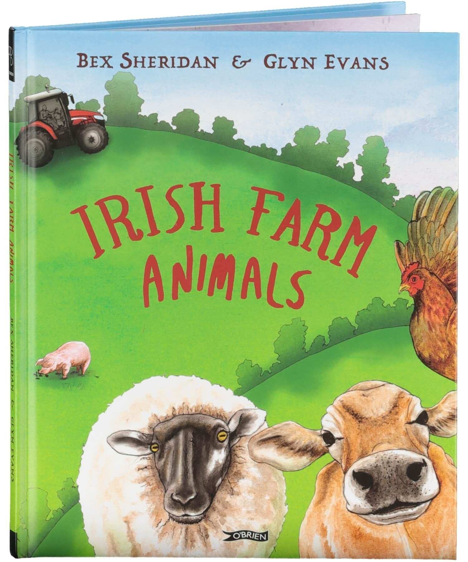 Irish Farm Animals - [The O'Brien Press] - Books & Stationery - Irish Gifts