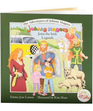 Johnny Magory Joins the Irish Legends - [Johnny Magory] - Books & Stationery - Irish Gifts