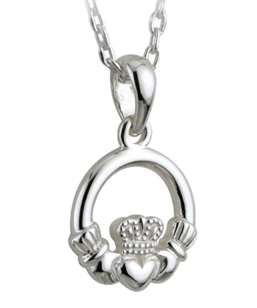 Solvar Kids - Claddagh Pendant Celtic Jewellery
