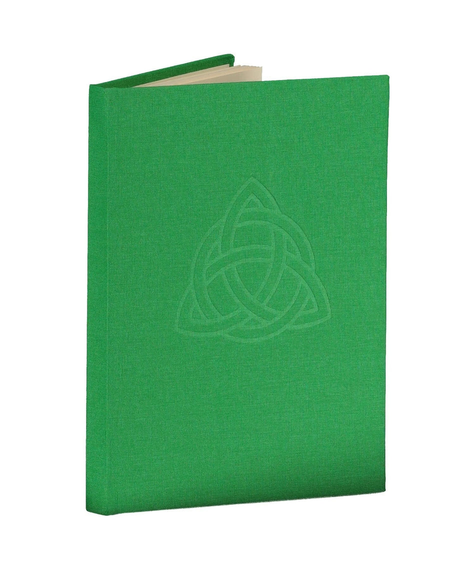 Trinity Knot Notebook - Meadow - [Duffy Bookbinders] - Books & Stationery - Irish Gifts