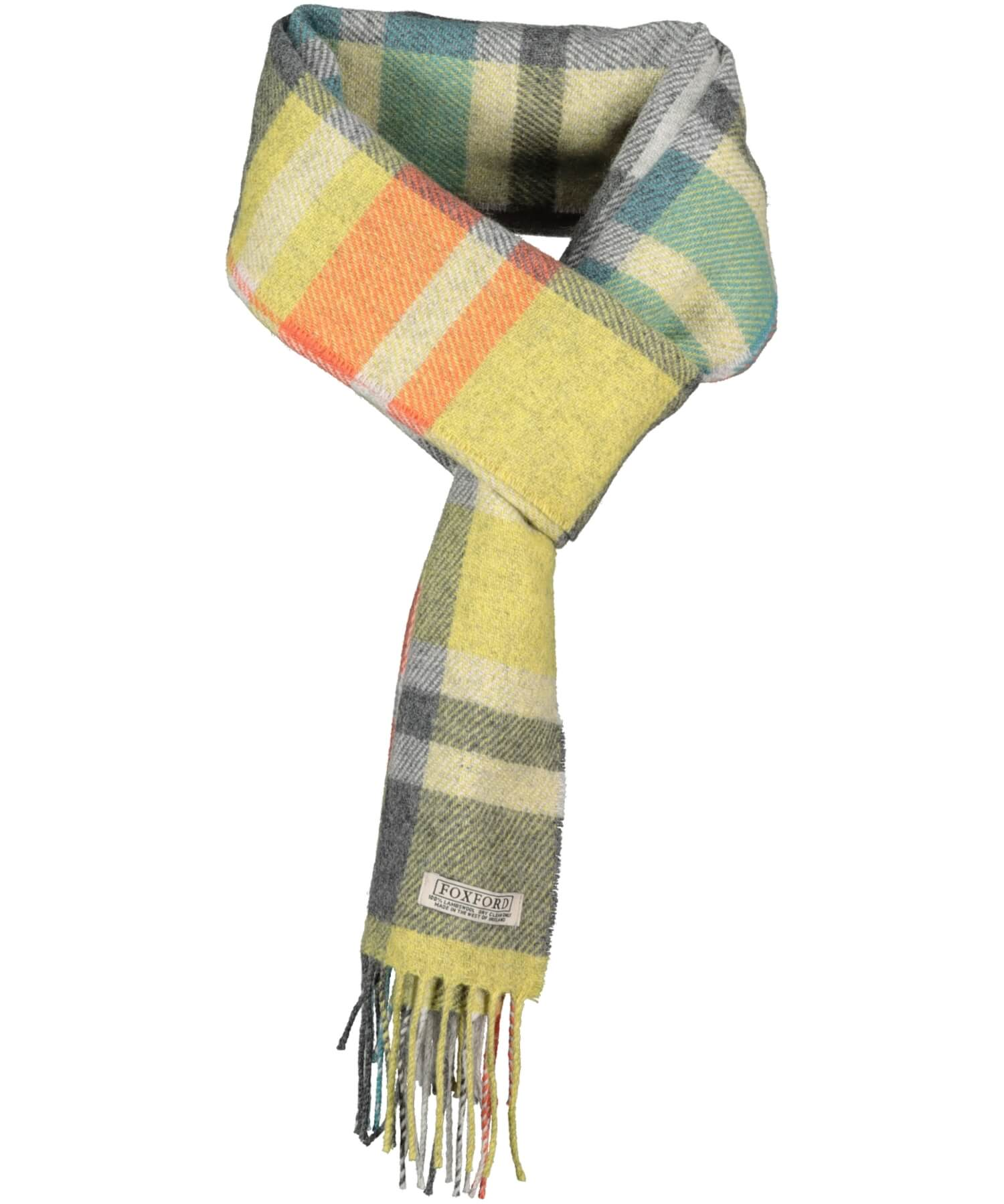 Lambswool Scarf - Sunny Day - [Foxford] - Unisex Scarves - Irish Gifts