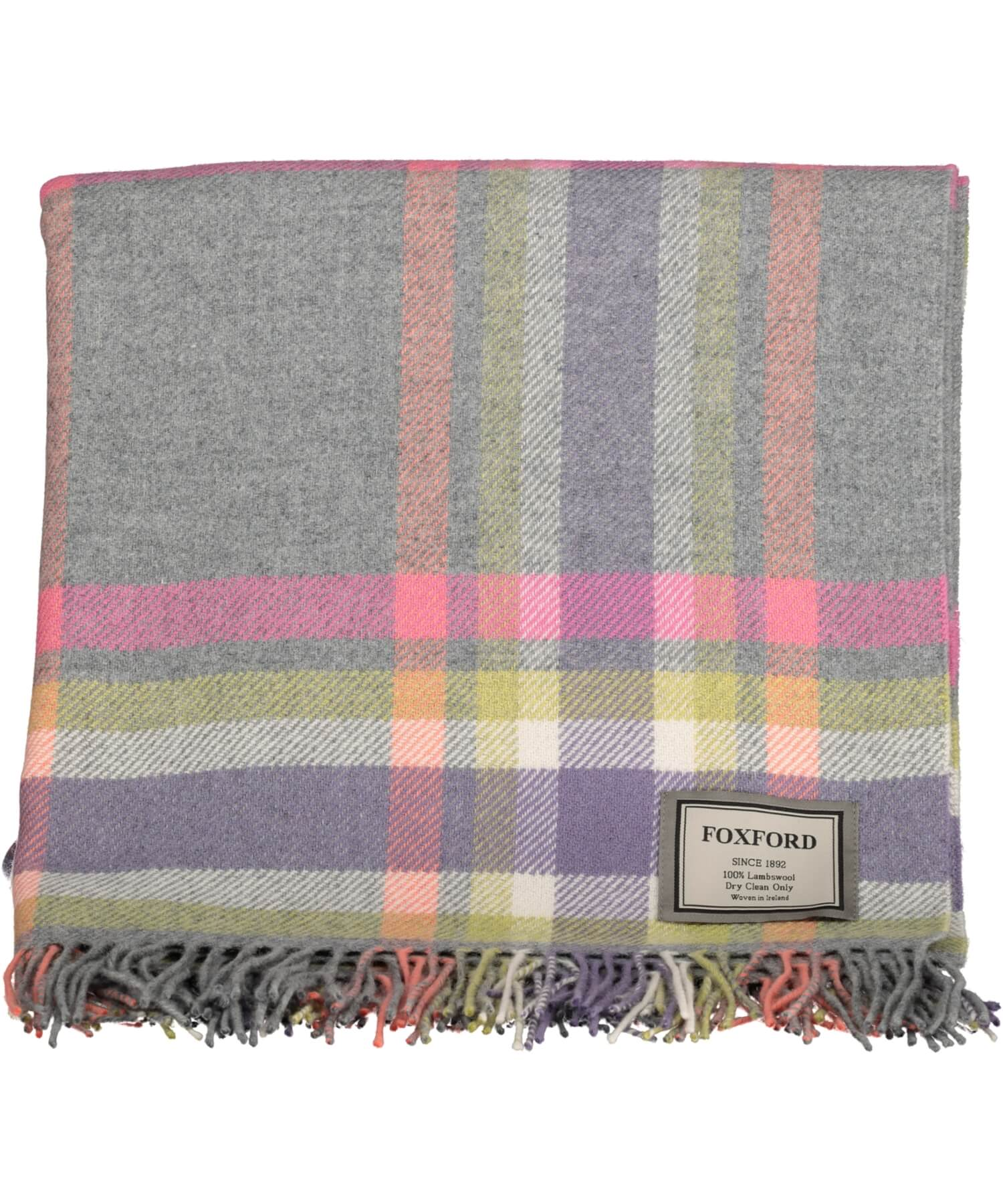 Lambswool Throw - Fiadh - [Foxford] - Throws & Cushions - Irish Gifts