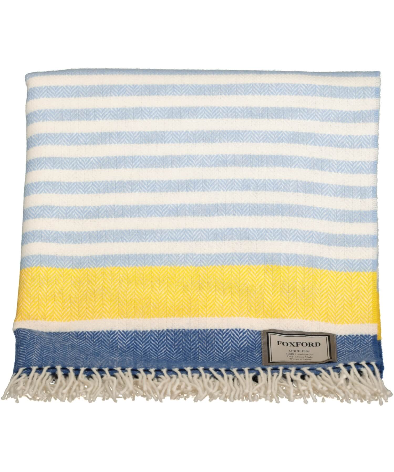 Lambswool Throw - Inisturk - [Foxford] - Throws & Cushions - Irish Gifts