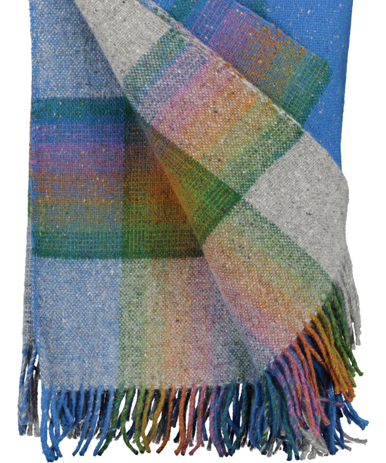 Handwoven Donegal Prism Throw - Spectrum - [Studio Donegal] - Throws & Cushions - Irish Gifts