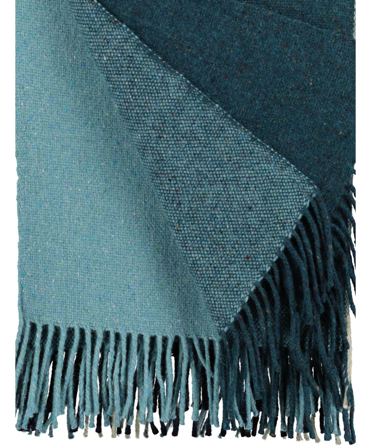 Handwoven Into The Wild Throw - Seascape - [Studio Donegal] - Throws & Cushions - Irish Gifts