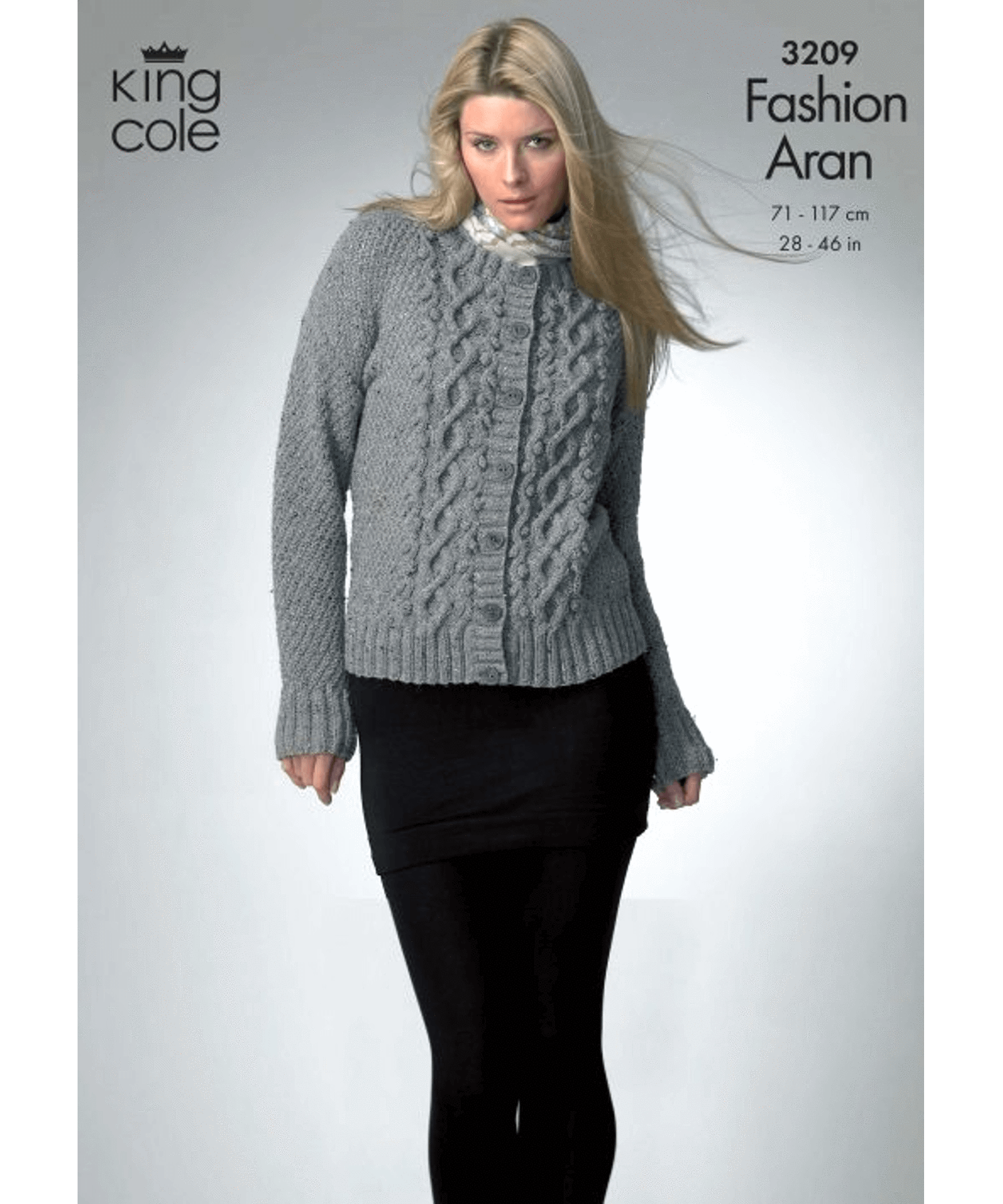 King Cole Aran Pattern 3209 - [Springwools] - Knitting - Irish Gifts