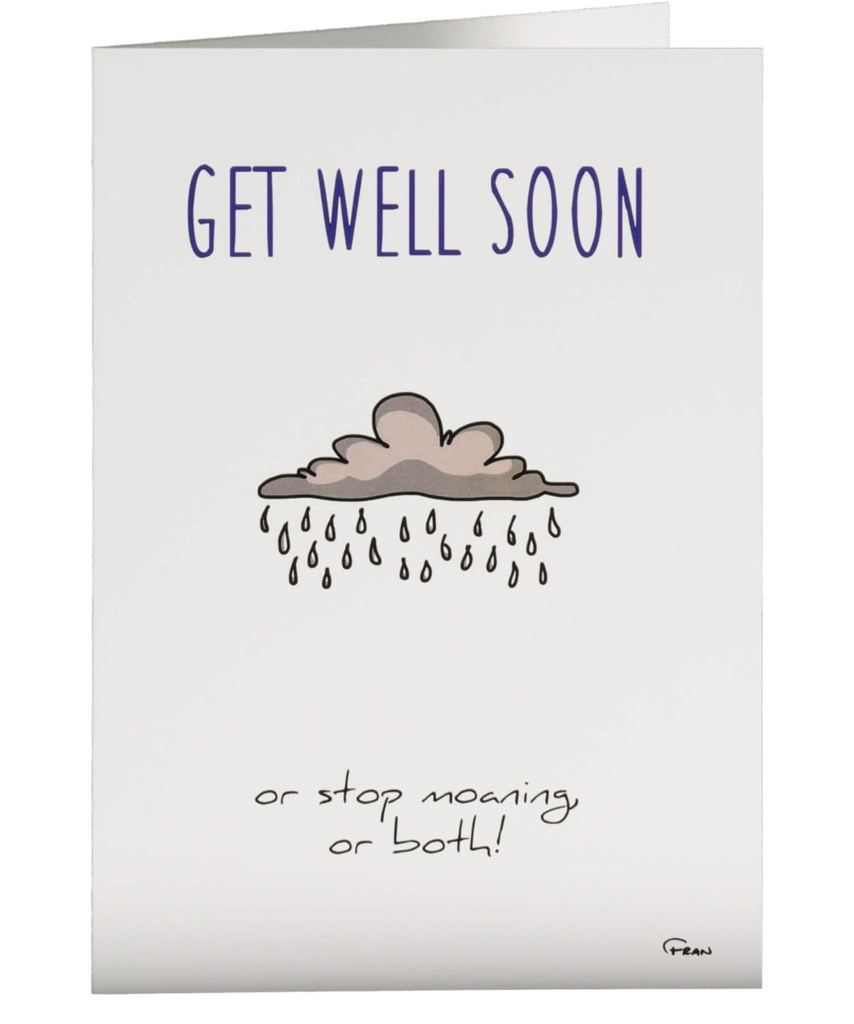 Greeting Card - Get Well Soon Fab Cow Cards