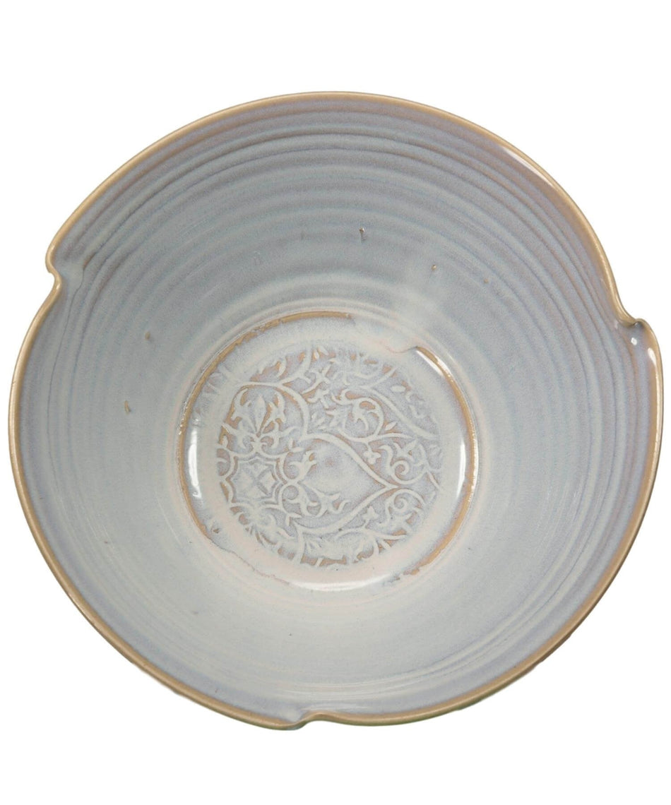 Oileán White - Salad Bowl - [Castle Arch] - Pottery & Ceramics - Irish Gifts