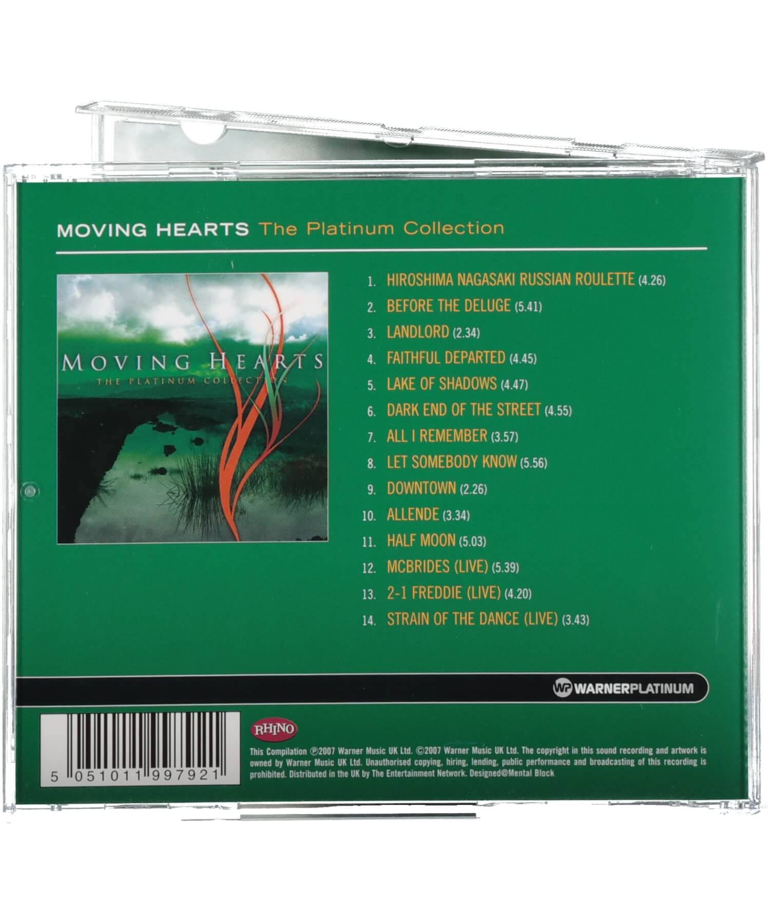 Moving Hearts - The Platinum Collection - [Ceol] - Music - Irish Gifts