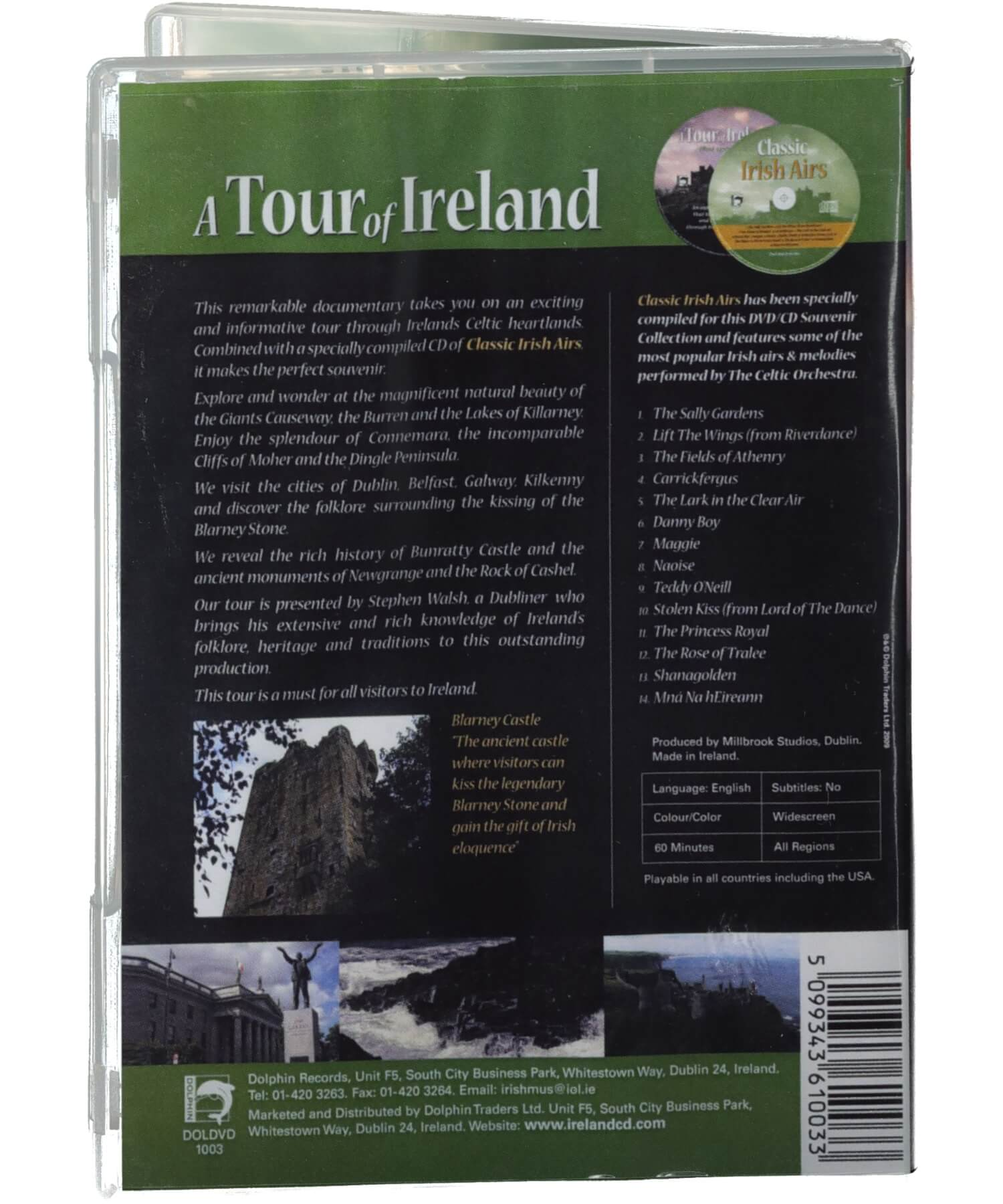 A Tour of Ireland DVD & CD - [Ceol] - Music - Irish Gifts