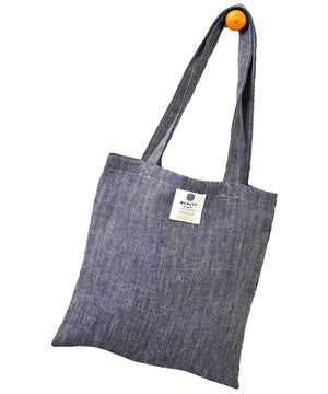 Irish Linen Bag - Navy - [McNutts] - Bags, Purses & Wallets - Irish Gifts