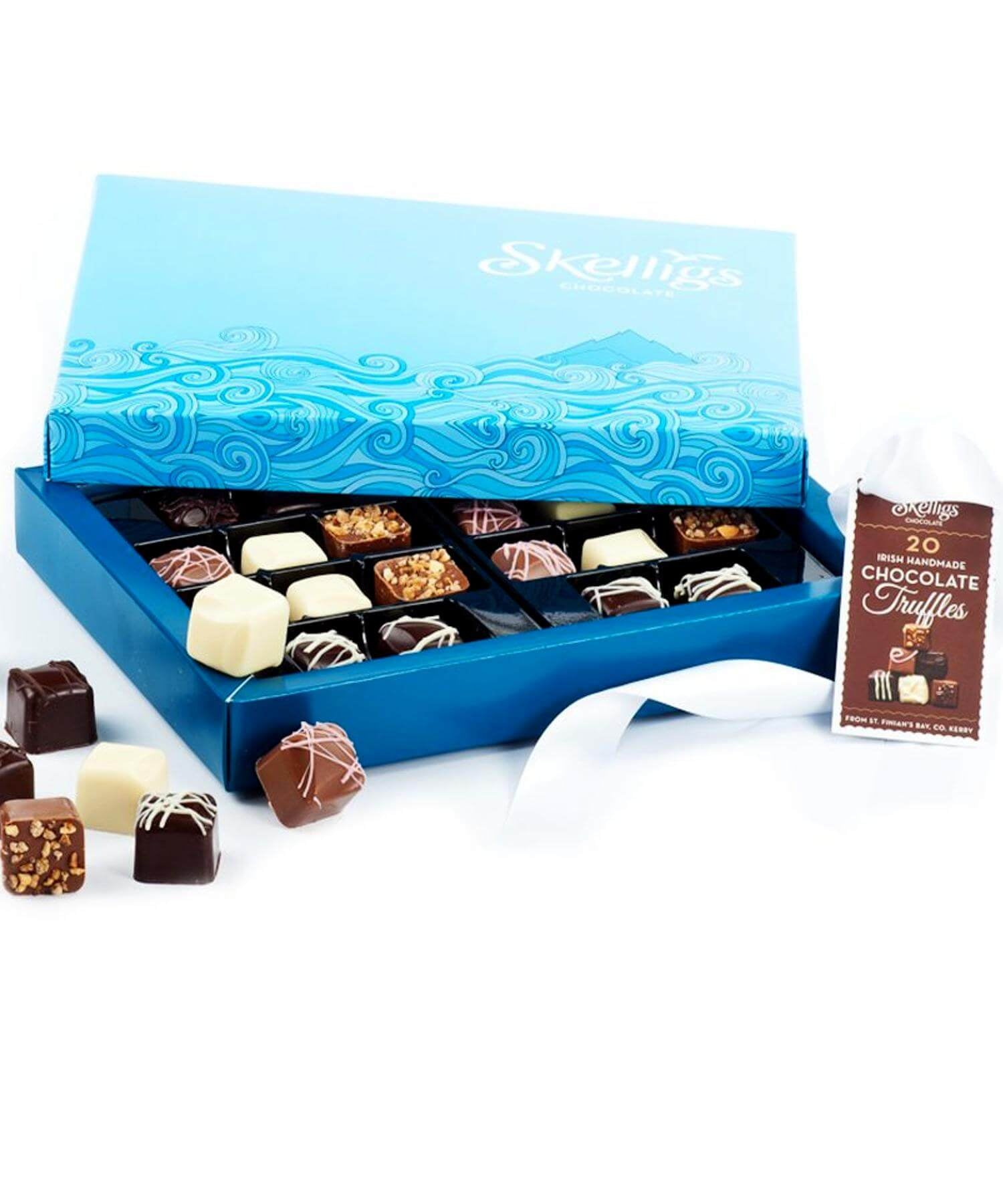 Skelligs - 20 Choc Box - [Skelligs Chocolate] - Food Gifts - Irish Gifts