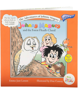 Johnny Magory and the Forest Fleadh Cheoil - [Johnny Magory] - Books & Stationery - Irish Gifts