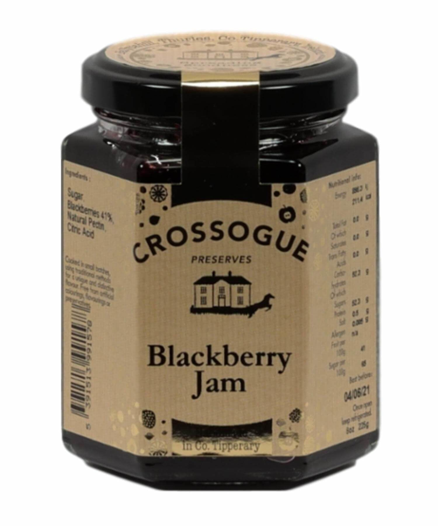 Blackberry Jam - [Crossogue] - Food Gifts - Irish Gifts