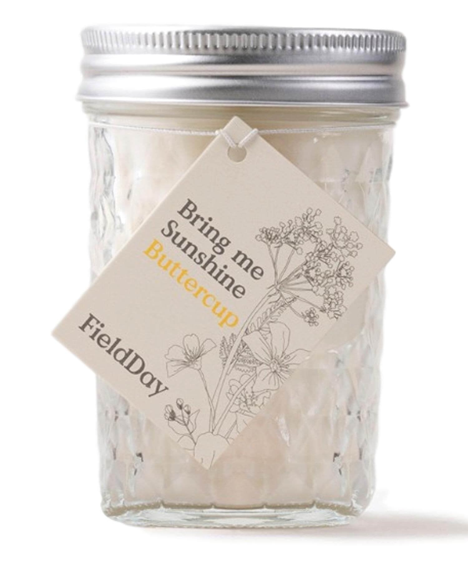 Jam Jar Collection - Buttercup - [Field Day] - Home Fragrance - Irish Gifts