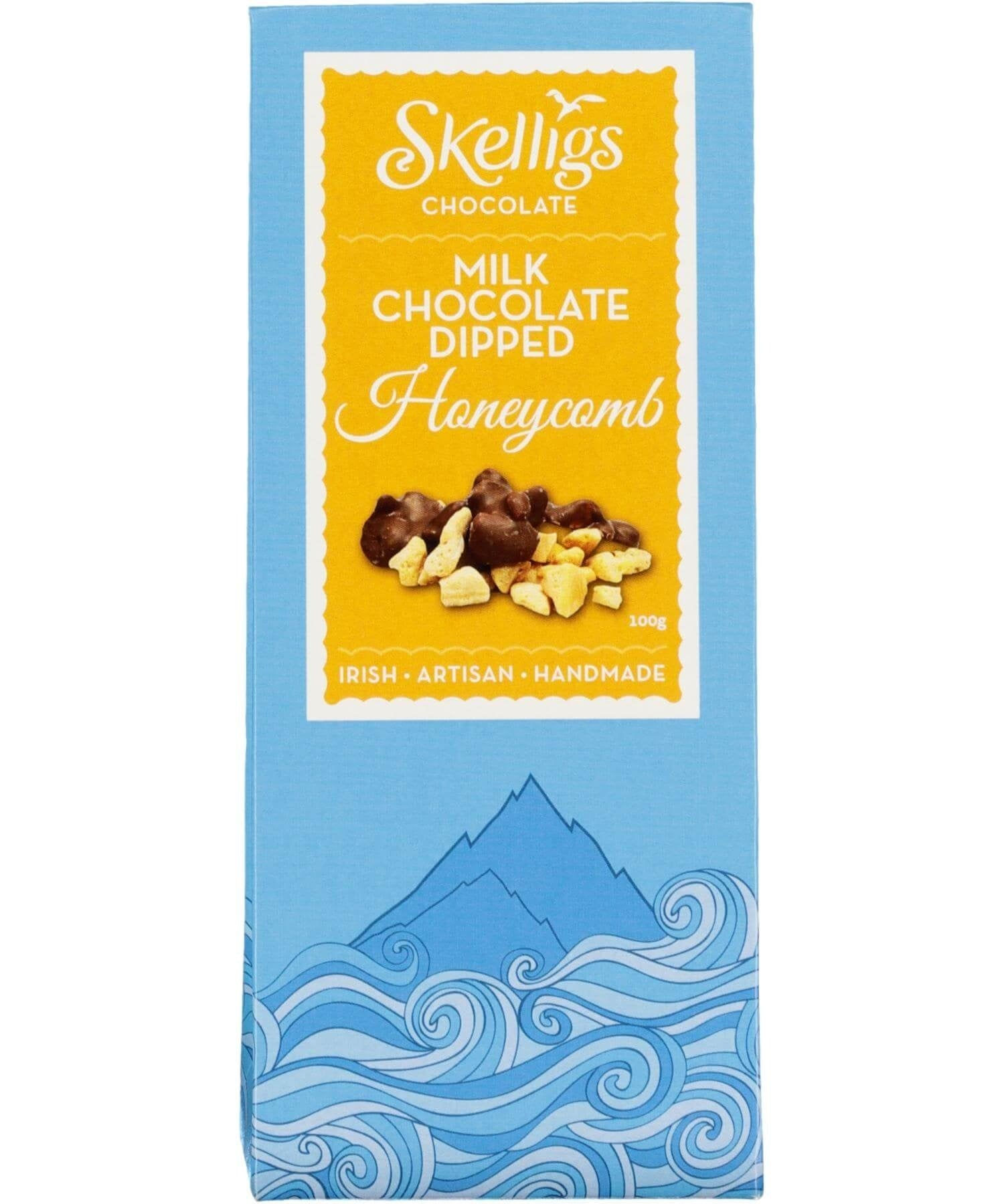 Milk Chocolate Dipped Honeycomb - [Skelligs Chocolate] - Food Gifts - Irish Gifts