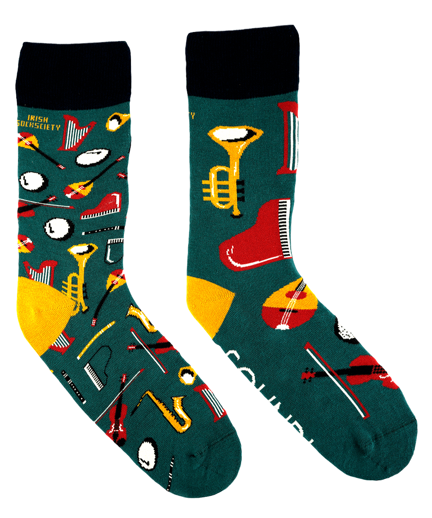 Socks - Sound Session - [Irish Socksciety] - Socks & Slippers - Irish Gifts