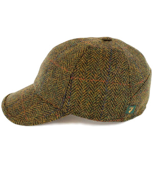 Baseball Hat - Moss - [Mucros Weavers] - Mens Hats & Headwear - Irish Gifts