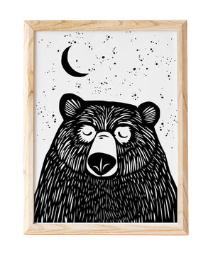 Print - Hey Bear - [Under the Willow] - Wall Art & Photography - Irish Gifts
