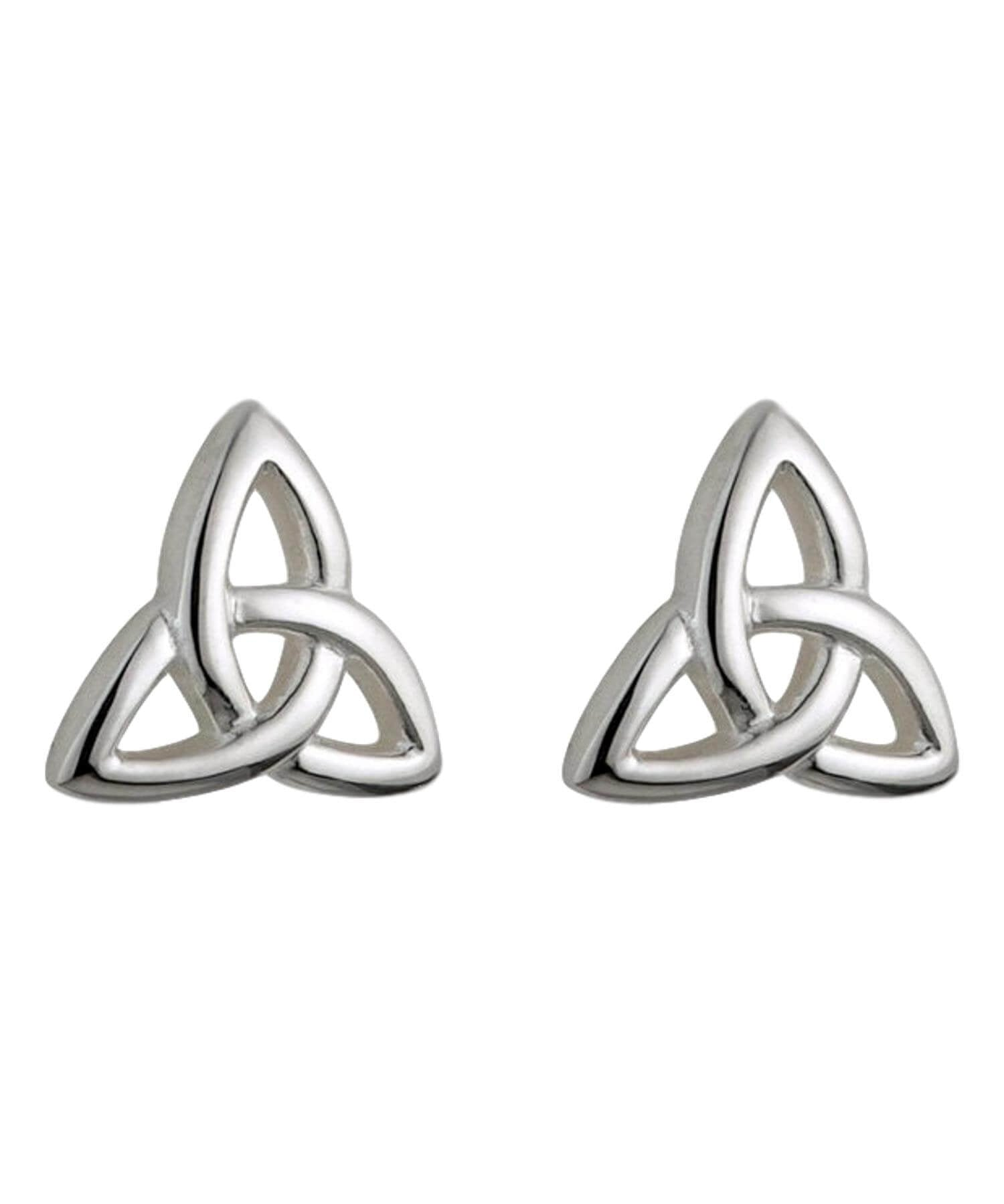 Solvar Kids - Trinity Knot Stud Earrings Celtic Jewellery