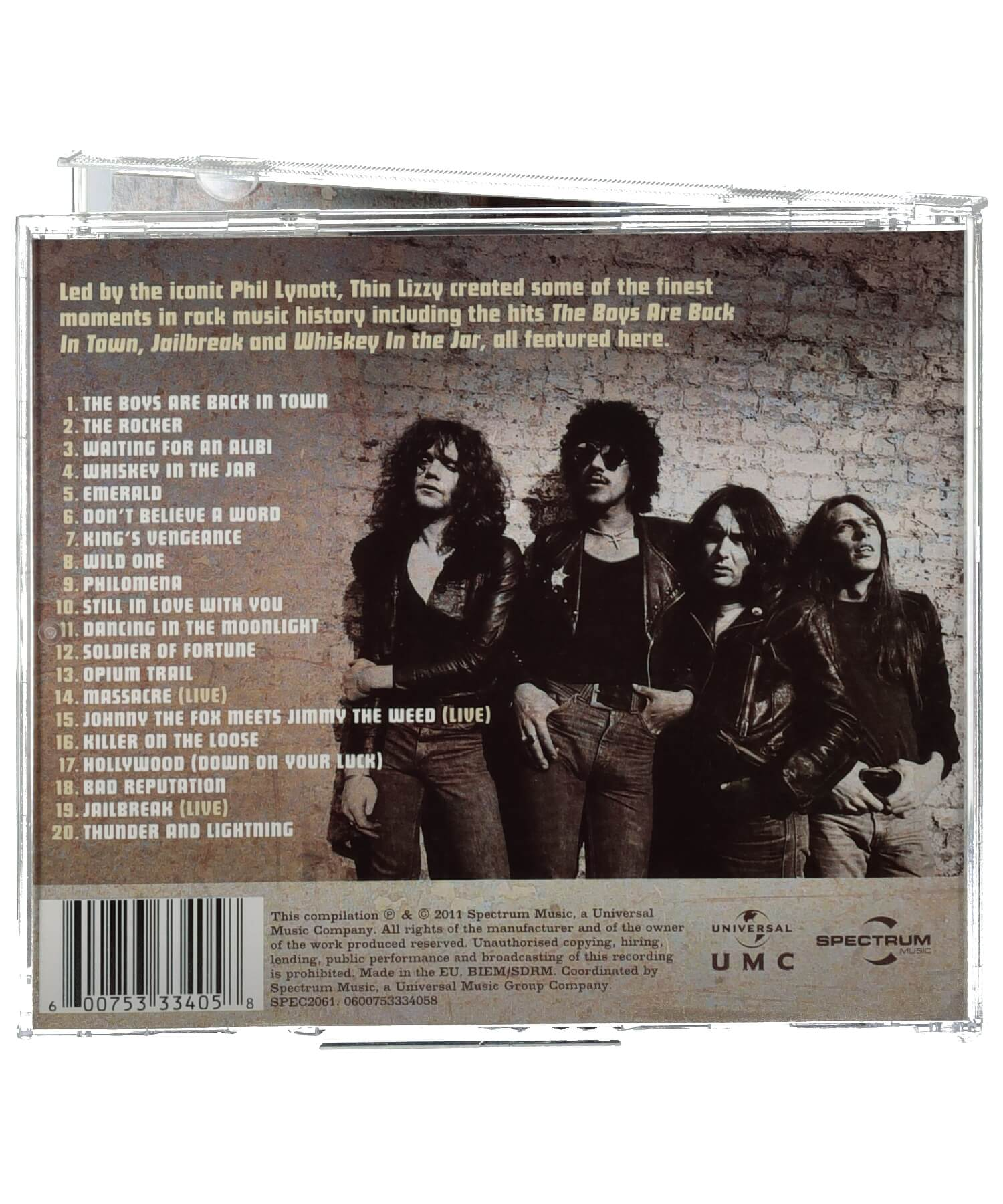 Thin Lizzy - Waiting for an Alibi - [Ceol] - Music - Irish Gifts
