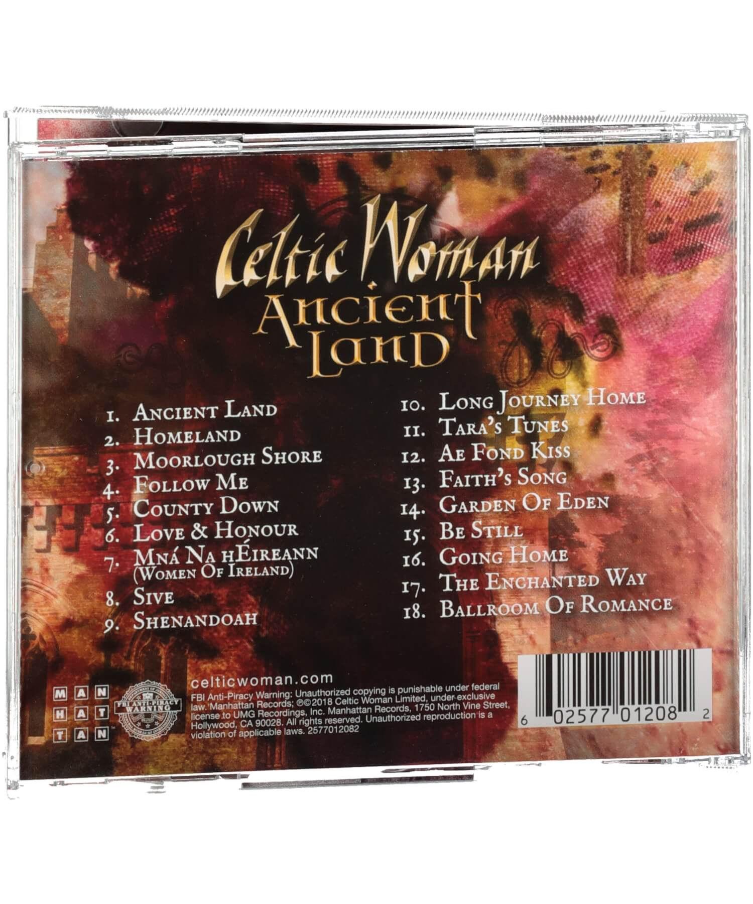 Celtic Woman - Ancient Land - [Ceol] - Music - Irish Gifts
