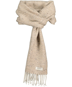 Donegal Tweed Scarf - Oatmeal - [McNutts] - Unisex Scarves - Irish Gifts