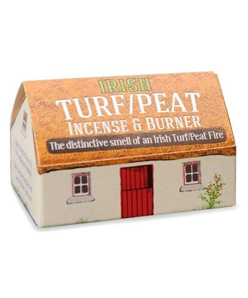 Peat Incense & Burner - [The Turf Peat Incense Co.] - Souvenir - Irish Gifts