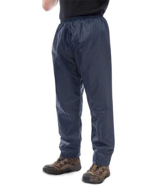 Adults Over Trousers - Navy Mac In A Sac Mens Outerwear