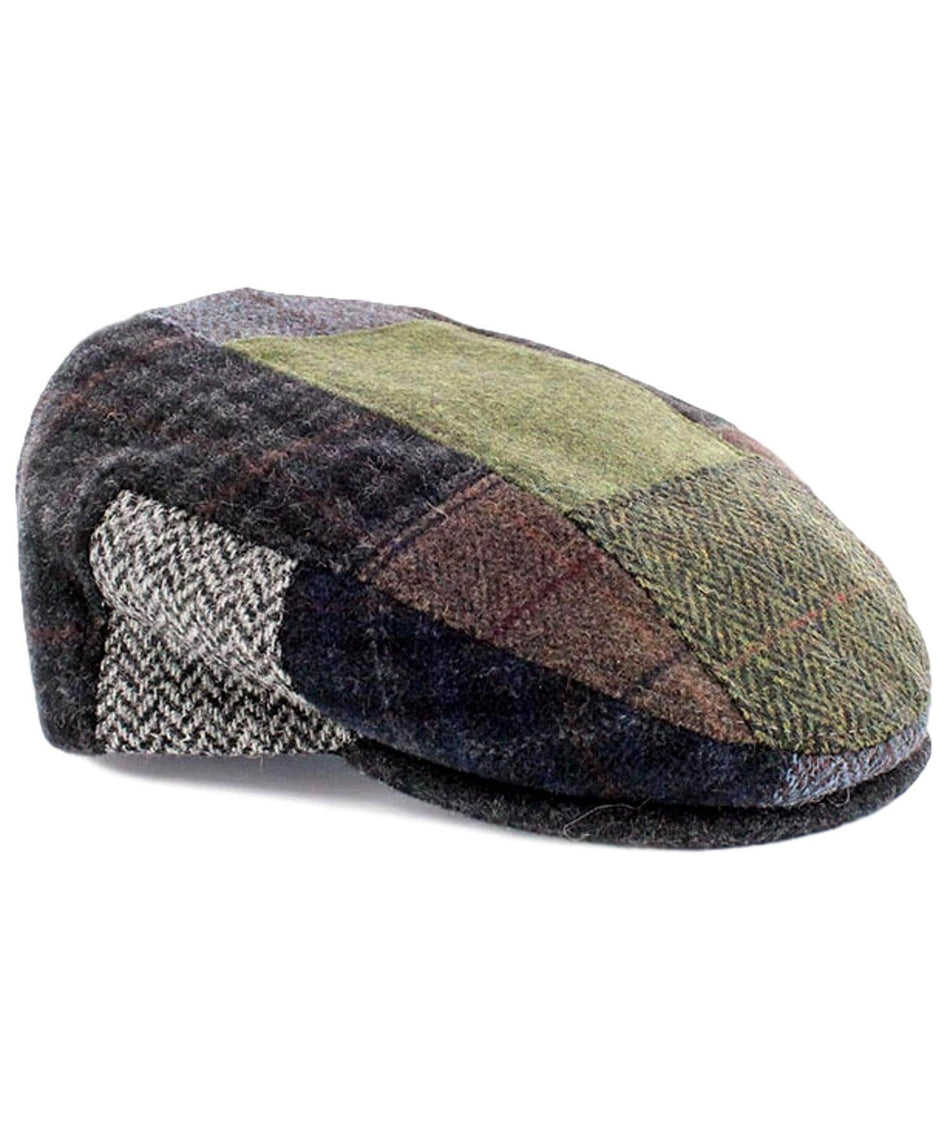 Trinity Cap - Original Patch - [Mucros Weavers] - Mens Hats & Headwear - Irish Gifts